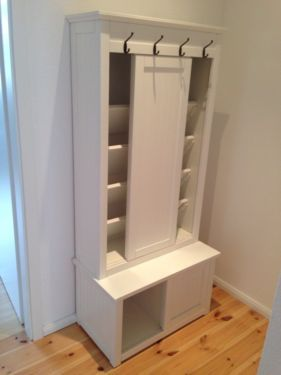 Weisse Garderobe Schuhschrank Von Impressionen Mdf Fur Ca 25 30