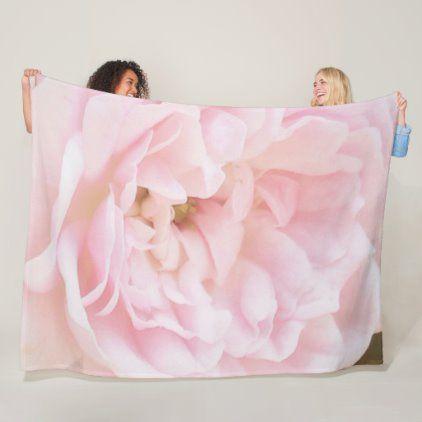 Pink Bow Fleece Throw Blanket Pillow