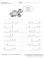 Thumbnail of Missing Numbers to 10 Worksheets