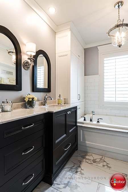 Salle de bain classique chic - Blog de Colobar Peinture ...