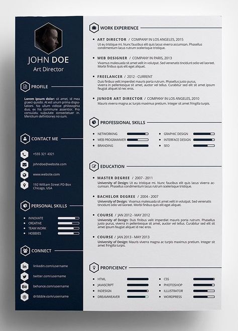 Free Creative Resume Template In Psd Format Resume Template Word Free Resume Template Word Resume Design Template