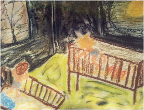 """""""The Great Escape,"""" a representation of my first childhood memory."""