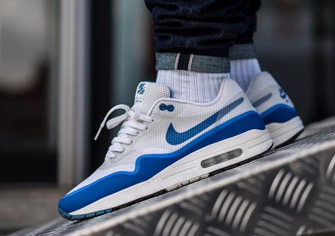 Nike Air Max 1 Hyperfuse  OG Blue  - 2012 (by villalobos 105) A quality  pair of shoe trees by Sole Trees are a perfect fit for your sneakers   ShoeTree ... 106f28dc6e91