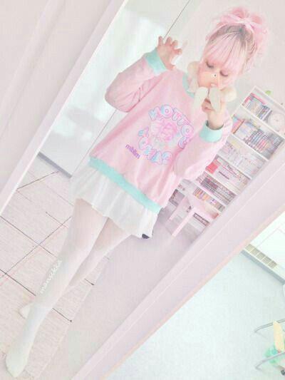 Pin By Blackpink On Ropa Hermosa Kawaii Fashion Outfits Pastel Goth Outfits Pastel Fashion