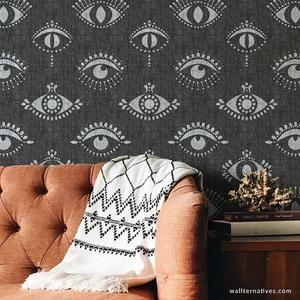 Wingspan Bonnie Christine Wallpaper Black Removable Wallpaper Eyes Wallpaper Wall Patterns