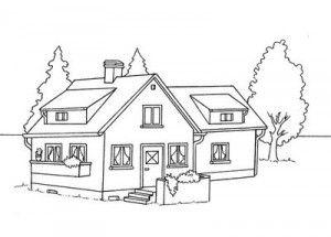 Pin De Adailze Em Para Meus Projetos Modelo De Casa Moradia Casa Para Colorir