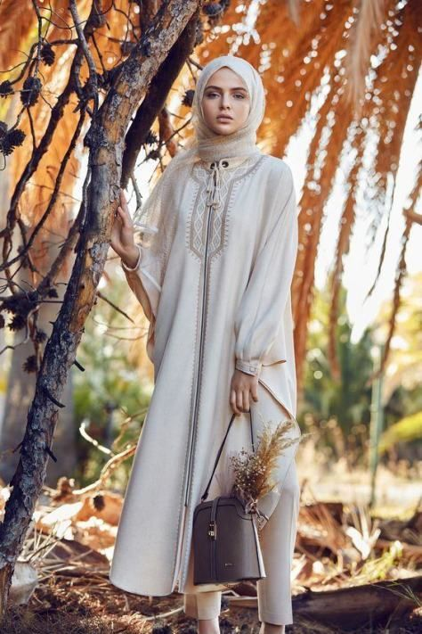 Fashion Arabic Style Illustration Description Stylish Hijab Fashion For Women 2017 / 2018 – Read More –