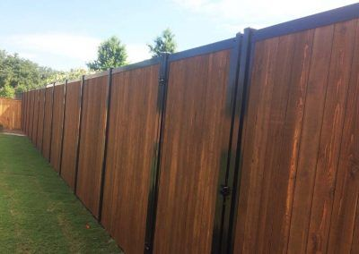 Fencetrac Privacy Fence Builder Arrow Fence Company Tulsa Oklahoma Fence Builders Backyard Fences Fence