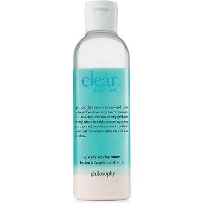 Philosophy Clear Days Ahead Mattifying Clay Toner Ulta Beauty Toner Ulta Beauty Clay