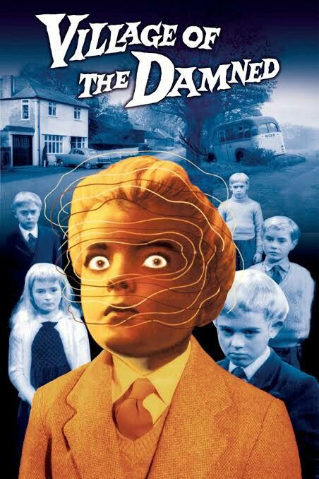 El Pueblo De Los Malditos Village Of The Damned 1960 In 2020 Horror Movie Posters Fiction Movies Best Horror Movies