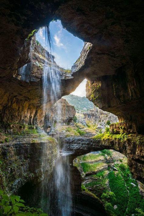 Водопад Баатара, Ливан  #мирпрекрасен #мир_необычного #amazing #пейзаж #beautiful #beautifulpictures #шедевры_вселенной #красивый_пейзаж #природа #красота #мирпрекрасен #beauty #beautiful #naturek