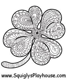 St Patrick S Day Coloring Pages For Kids Coloring Pages Free