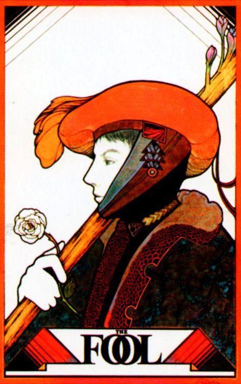 0  The Fool - Aquarian Tarot by David Palladini  This card