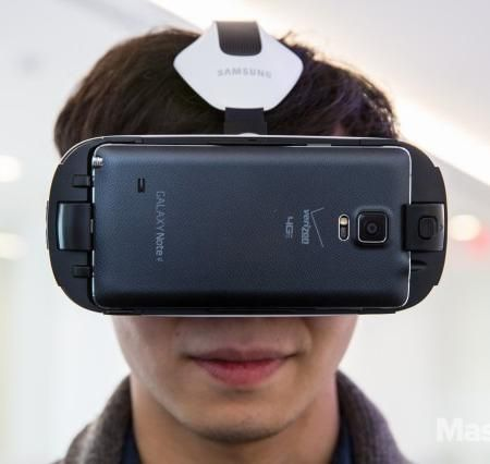 The Samsung Gear VR.