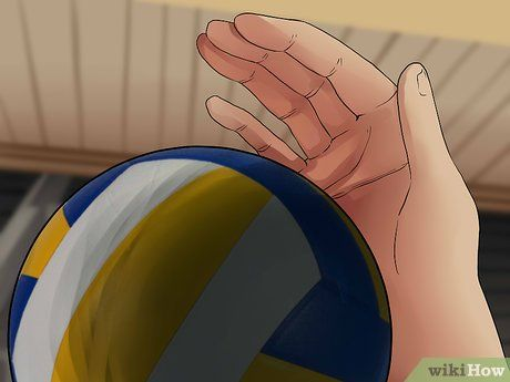 How To Spike A Volleyball Volleyball Spike Volleyball Volleyball Drills