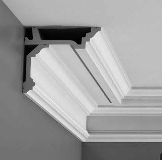 انواع كرنيزات الجبصية Decor Home Decor Stairs