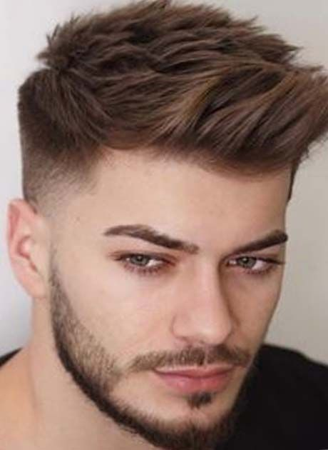 Short Wavy Hair For Men 70 Masculine Haircut Ideas Haircuts For Men Mens Hairstyles Beard Styles For Men