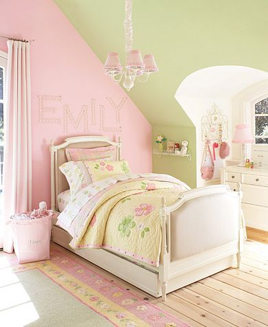Pink And Green Little S Room Attic Great Ideas Livd Me An In 2018 Pinterest Bedroom