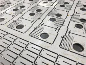 Cnc Punching Aluminium Sheet Metal Panels Aluminum Sheet Metal Metal Panels Sheet Metal Work