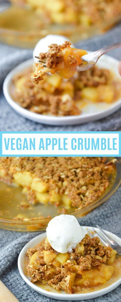Vegan Apple Crumble Dessert Recipe Apple Crumble Recipes Veggie World