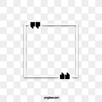 Borda Criativa De Retangulo Branco Retangulo Clipart Dialogo Criativo Caixa De Titulo Do Criativo Imagem Png E Vetor Para Download Gratuito In 2021 Hand Painted Frames Black And White Cartoon Black