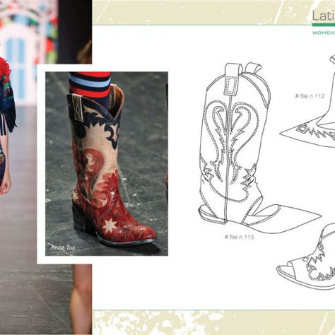 Page Cool Book Sketch - Women's Shoes S/S 2018