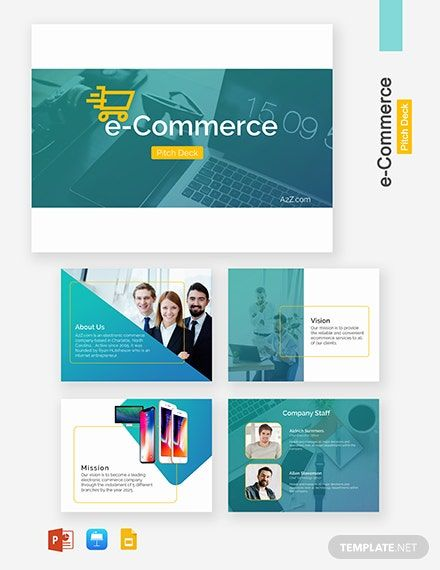 E Commerce Pitch Deck Template Powerpoint Ppt Apple Mac Keynote Google Slides Ecommerce Fun Website Design Guerilla Marketing