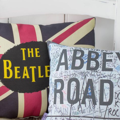 The beatles pillow | Etsy
