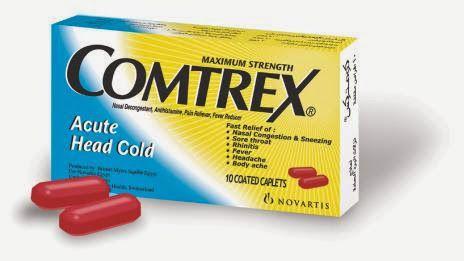 كومتركس اقراص لعلاج نزلات البرد والانفلوانزا الشديدة Comtrex Diet And Nutrition Body Ache Health