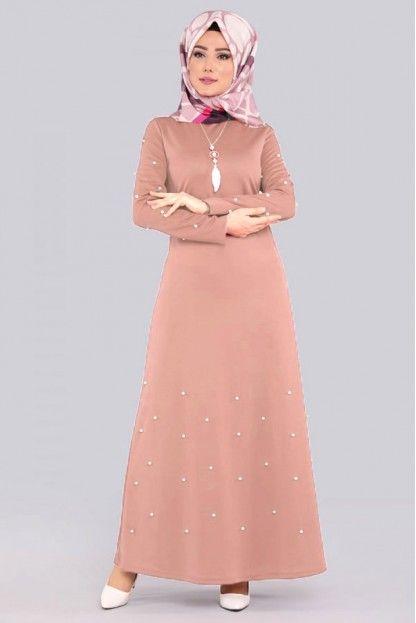 Tesettur Elbise Modelleri Kategorisinde Birbirinden Sik Tesettur Elbise Modelleri Uygun Fiyata Kapida Odeme Imkani Ile Modar Elbise The Dress Elbise Modelleri