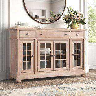 Acacia Wood Sideboard, Wayfair Dining Room Cabinets