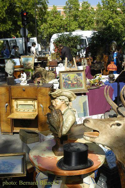 Le marché aux Puces de Vanves