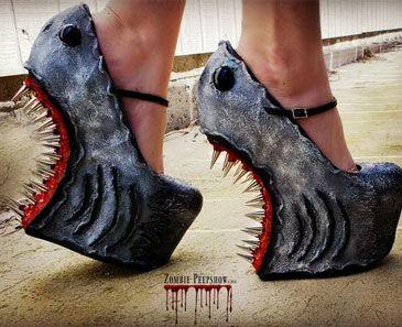 bas prix 1bfcb 10479 Une « Attaque de requin » dopés cales | Vêtements ...