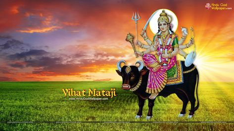 Vihat Maa Wallpapers Photos And Images Download Maa Wallpaper Best Background Images Indian Art Paintings