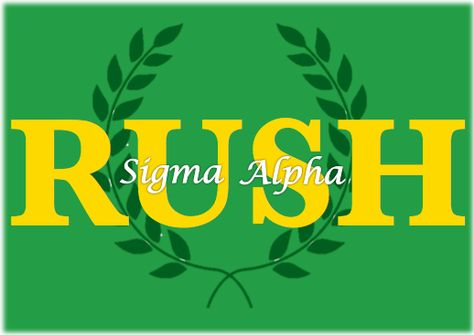 Sigma Alpha Recruitment Creations by Elle (Gamma ch.)