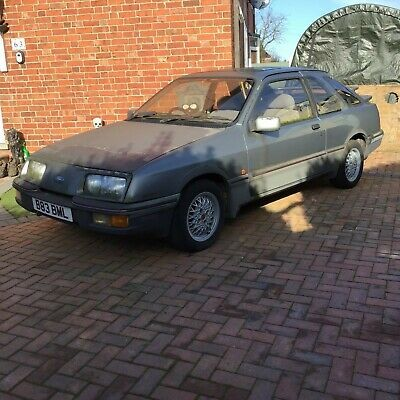 Barn Find Mk1 Ford Sierra Xr4i Classic For Spares Or Repairs Project In 2020 Ford Sierra Barn Finds Mk1