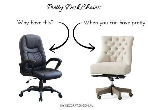 Pretty Office Chairs Chair Covers Ny Desk My Dream House Pinterest Why Are So Ugly Here Picks For But Functional Because Work Should Be Stylish
