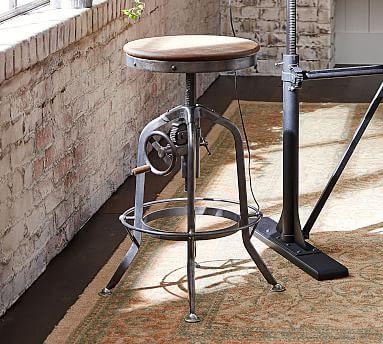 Wondrous Pittsburgh Adjustable Height Bar Stool Dream Work Space Uwap Interior Chair Design Uwaporg
