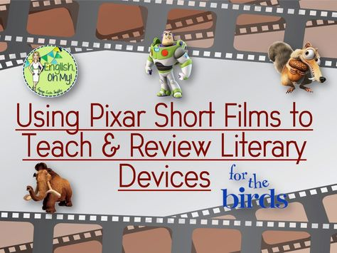 Using Pixar Short Films in the English Language Arts Classroom - English, Oh My! language art Using Pixar Short Films in the English Language Arts Classroom Arts Du Language, Teaching Language Arts, English Language Arts, Teaching English, Gcse English, English Reading, English English, Middle School Reading, Middle School English