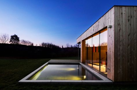 Weekend House By Marketa Cajthamlova | Weekend House, Architects And Saunas