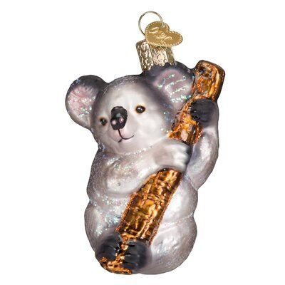 Old World Christmas Koala Bear Ornament Old World Christmas Ornaments Old World Christmas Koala Bear
