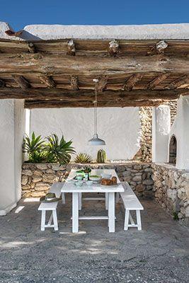 Ibiza Une Deco Boheme Pour Une Finca Casas De Playa