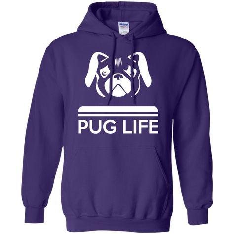 Pug Life Hoodie ; Pug Life Hoodie #PugLife #Pug #Hoodie