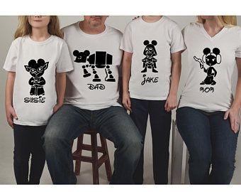 Star Wars Disney Family Shirts-Disney Family Shirts,DisneyVacation Shirts,DisneyShirts,Disneyland,Disney World,Family Shirts,Disney Vacation