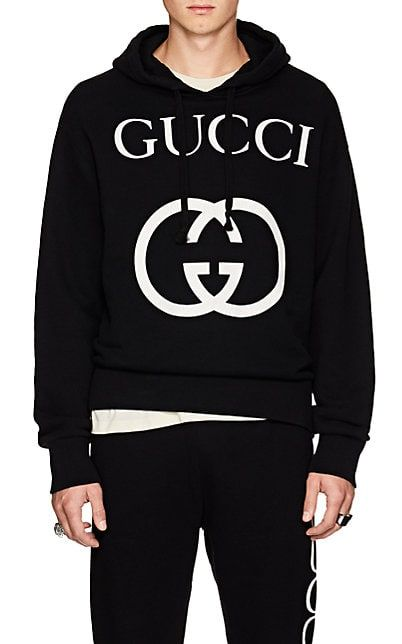 984c39098 We Adore: The Interlocking-G-Print Cotton Hoodie from Gucci at Barneys New  York