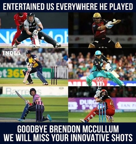 It's a sad day for cricket, thank you for all your services, Brendon McCullum. #brendonmccullum