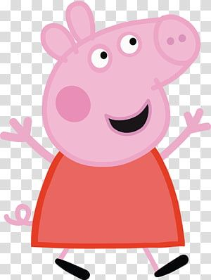 Peppa Entertainment One Animated Cartoon Peppa Pig Transparent Background Png Clipart Pig Illustration Peppa Pig Cartoon Pig Clipart