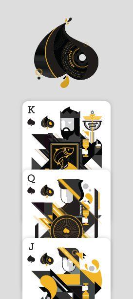 Elemental Deck of Cards - Design   Paragon Design Group