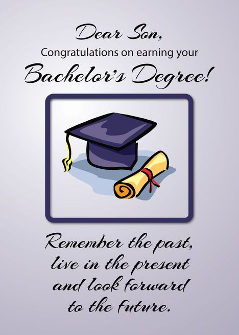 Gibson Happy Graduation from Parents Commencement Card