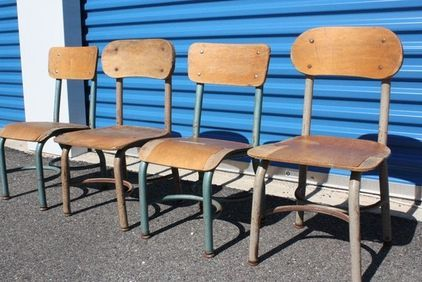 school chairs 1968